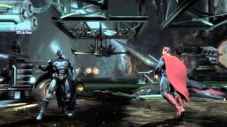 Injustice: Gods Among Us PS4 - Que tutorial difícil. Jogo grátis plus dezembro.