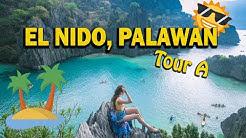 EL NIDO Tour A (Itinerary + Expenses): Island Hopping in El Nido, Palawan, Philippines