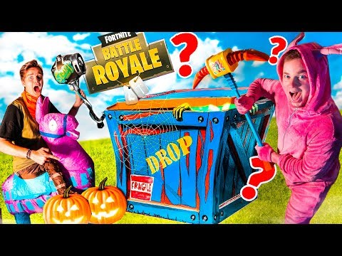 FORTNITE CHAPTER 2 HALLOWEEN MYSTERY BOX! Fortnite SKINS, Toys, NERF & More