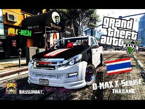 GTA V #3 [D-max X-series ] ดีแม็กแต่งสวย-ลุยป่าลุยเขา🇨🇷BASSUNDAY