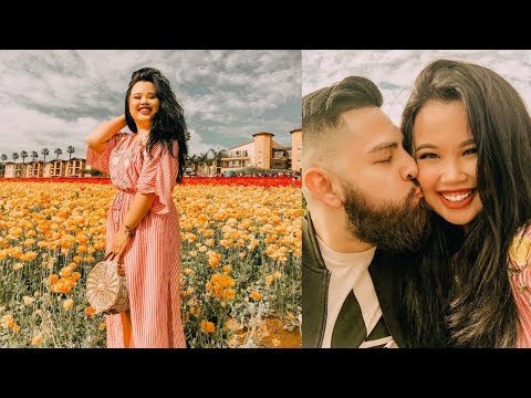 FLOWER FIELD DATE + UNEXPECTED HAIR GOALS (I LOVE THIS PRODUCT!)