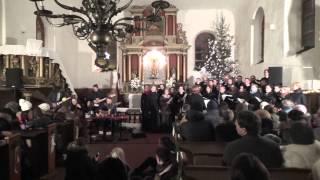 Kalniem pāri, The Sound Poets, koris PaSaulei, Durbes baznīca, 2014.12.28.