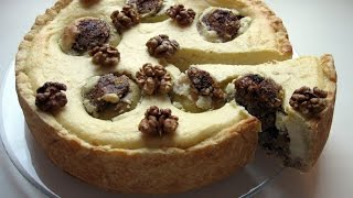 Пирог с яблоками и творожным суфле / Пирог четыре яблока / Очень вкусный, простой рецепт
