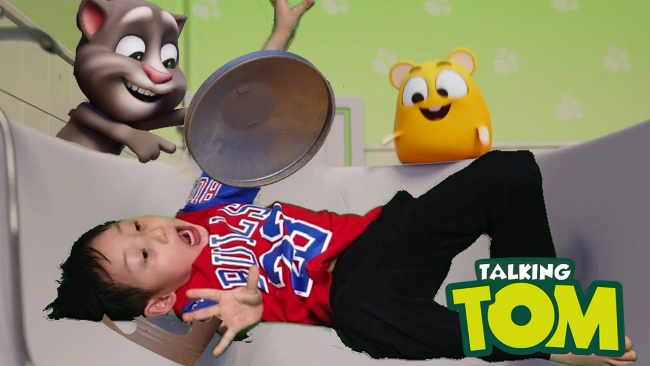 🏆💥 Hide and Seek Challenge with My Talking Tom in Real Life and more Nate stories