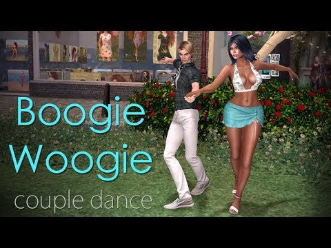 SL - CD_66 Boogie Woogie - couple dance animation for Second Life (3d virtual world)