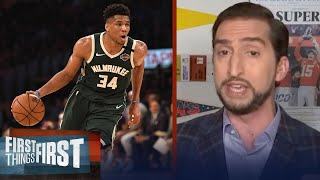 LeBron, Harden, Giannis: Who has the most to gain from a title? - Nick Wright | FIRST THINGS FIRST