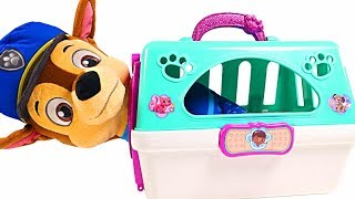 Mejores Videos Para Niños - Paw Patrol Chase Doc McStuffins Carrying Case Fun Videos For Kids