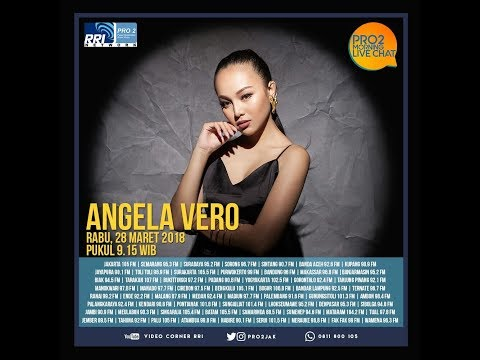 Angela Vero - Morning Live Chat Pro2 FM RRI Jakarta (Live Video Corner RRI) Reupload