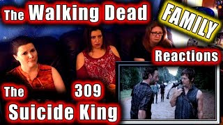 The Walking Dead   FAMILY Reactions   The SUICIDE KING   309