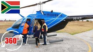 Hubschrauber Rundflug über Kapstadt in 360 Grad | 360 Video Virtual Reality