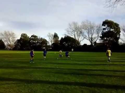 Queens Park Master vs 12th grade training vid pt 2