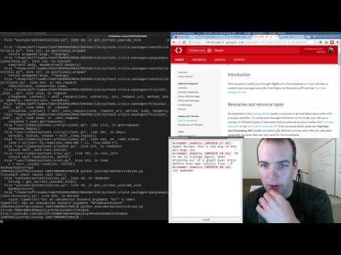 Google Youtube Live API + Authentication W/ Python