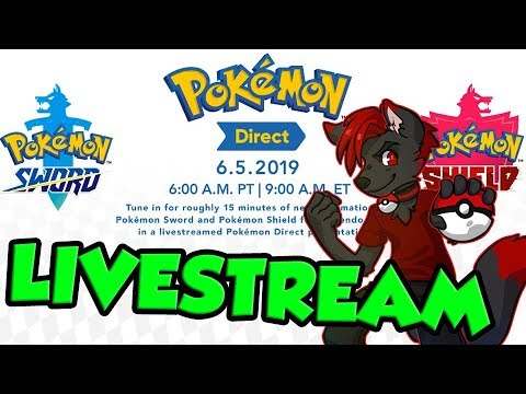 Pokemon Sword And Shield Direct Live Reaction Youtube