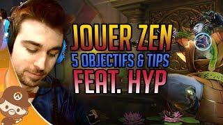 S'améliorer sur Zenyatta avec HyP de Paris Eternal - Pro TIPS - Overwatch FR
