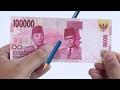 Rahasia Trik sulap Pensil Nembus Uang
