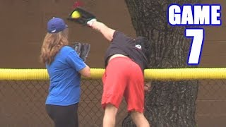 BEST CATCH WE'VE EVER SEEN! | On-Season Softball Series | Game 7