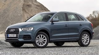 2016 Audi Q3 Start Up and Review 2.0 L 4-Cylinder Turbo