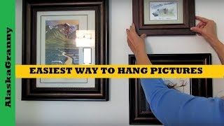Easiest Way To Hang Pictures