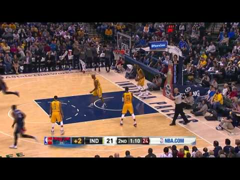 Atlanta Hawks vs Indiana Pacers | April 6, 2014 | NBA 2013-14 Season