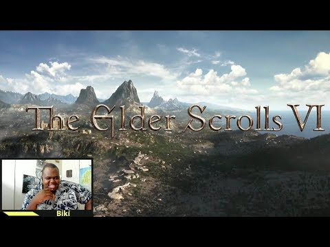 My crazy reaction to The Elder Scrolls 6 &  Starfield | 2018 Bethesda E3 Showcase