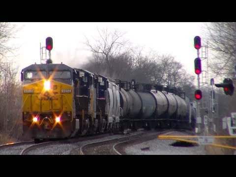 Heavy Railfanning Action at Shenandoah Jct!