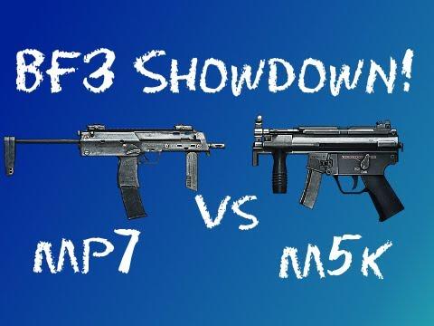 BF3 Showdown - MP7 vs M5K (1080p!)