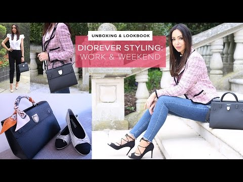 DIOREVER UNBOXING  LOOKBOOK  High End Styling for Work & Weekend  Sophie Shohet