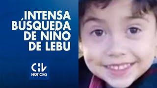 La intensa búsqueda de niño de 3 años que desapareció en Lebu