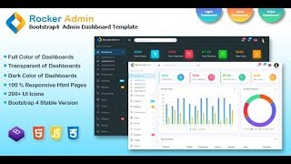Rocker Dashboard admin Template