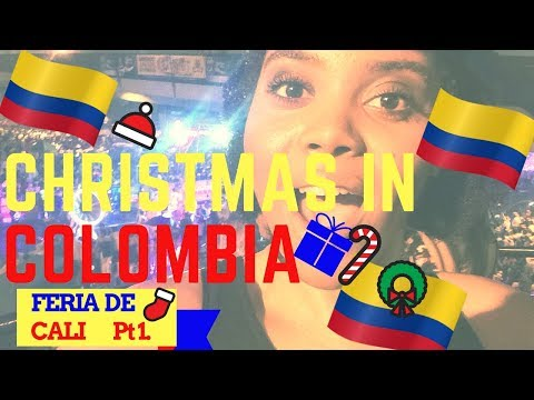 COLOMBIA TRAVEL: CHRISTMAS IN COLOMBIA TRAVEL VLOG | FERIA DE CALI | PT1| Chanelle Adams