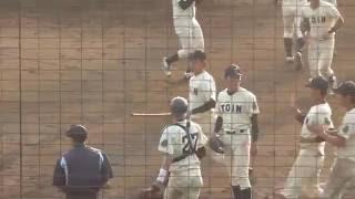 桐蔭横浜大学 高橋拓巳投手 対鶴見大学戦【7回~9回】