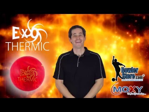 Moxy Exothermic Bowling Ball Video Demonstration by Bowlerstore.com