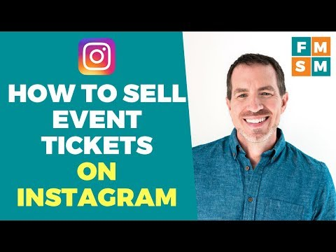 How To Sell Event Tickets On Instagram