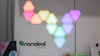NanoLeaf Aurora استعراض إضائة