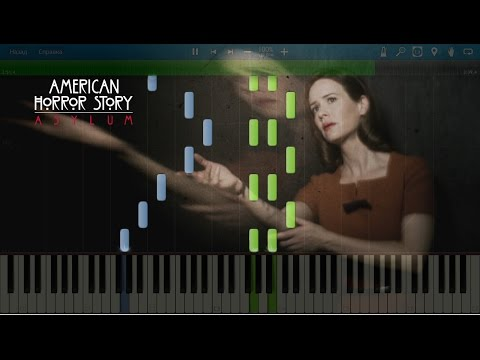 Candyman / American Horror Story: Asylum - It was always you, Helen. Piano (Synthesia)
