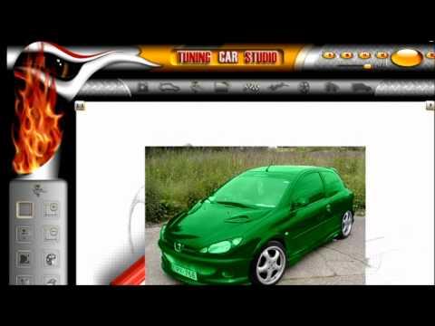 Programa para editar autos [tuning car studio]