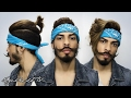 4 Hairstyles Using Bandana