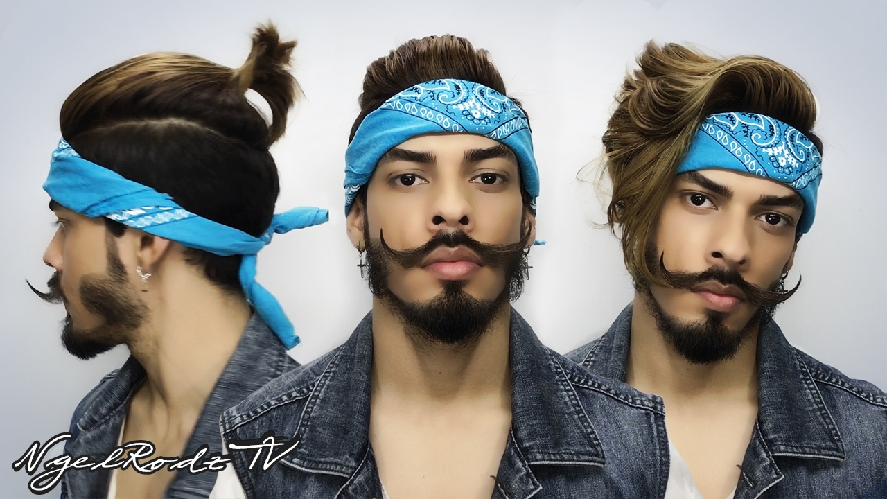 4 Hairstyles Using Bandana - YouTube d4d1c65fb60