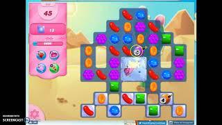 Candy Crush Level 688 Audio Talkthrough, 2 Stars 0 Boosters