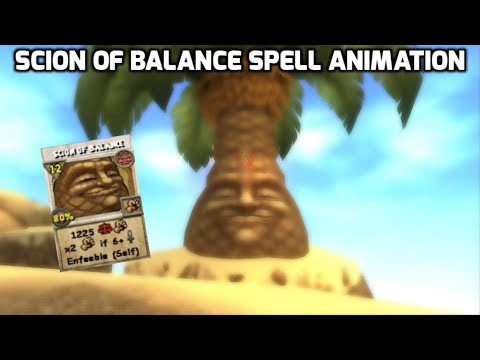 Wizard101 New Spell: Scion of Balance (12 pips)