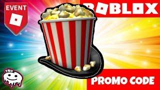 POPCORN KLOUBOUK ZDARMA - Showtime Bloxy Popcorn Hat   Roblox   tNo CZ/SK