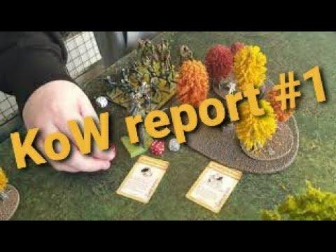 Kings of War battle report #1
