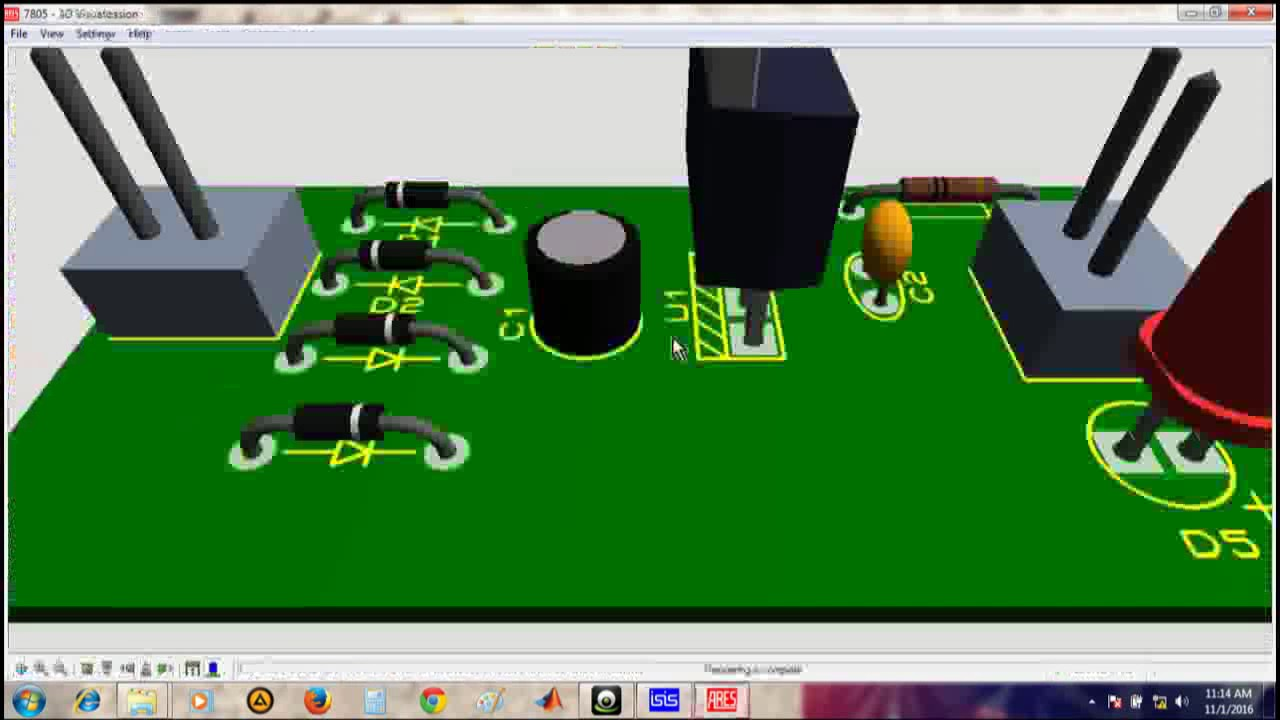 5v Constant Power Supply Circuit And Pcb Desing Youtube