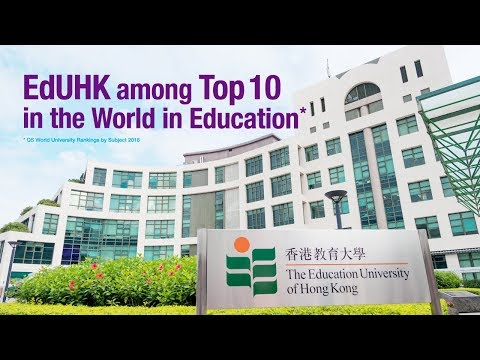 The Education University of Hong Kong: Top 10 in the World in Education 香港教育大學:教育領域全球十大
