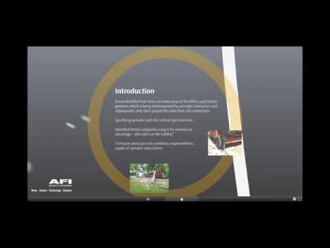 Webinar - MEWP Ground Conditions and when to use Spreader Pads