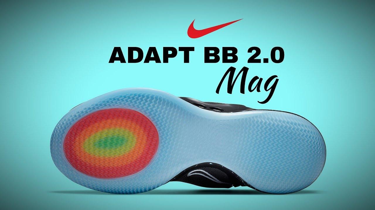 Nike Adapt Bb 2 0 Black Mag 2020 Detailed Look Price Release Date Nikeadapt Youtube