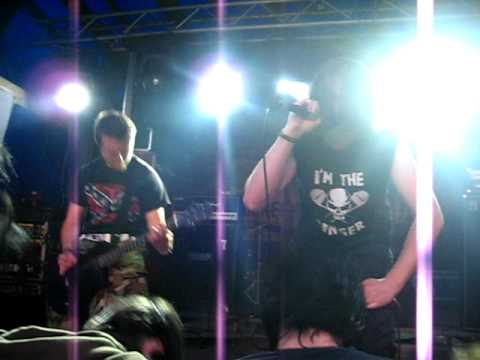 DOULBLAIR: INTRO + DEVOURED FROM BLOOD @ DEAD MAN WALKING 2009
