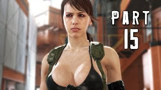 Metal Gear Solid 5 Phantom Pain Walkthrough Gameplay Part 15 - Footprints (MGS5)