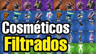 'FILTRATED' ALL NEW FORTNITE SKINS AND BAILES (ALL COSMETICS) Patch 10.30