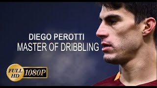 Diego Perotti - Master Of Dribbling - As Roma 2015/2018